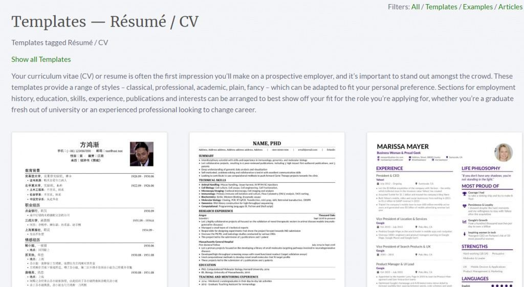 10 best free resume builder online tools to create your resume